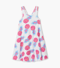 Load image into Gallery viewer, Party Pineapples Trapeze Dress by Hatley