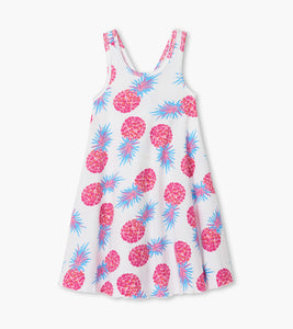 Party Pineapples Trapeze Dress by Hatley