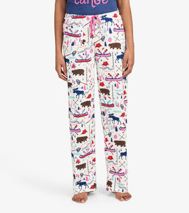 Hatley Pretty Sketch Country Women's Jersey Pajama Pants