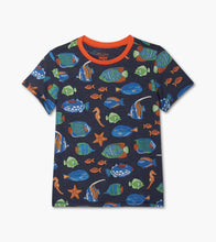 Load image into Gallery viewer, Bright Fish Graphic Tee by Hatley