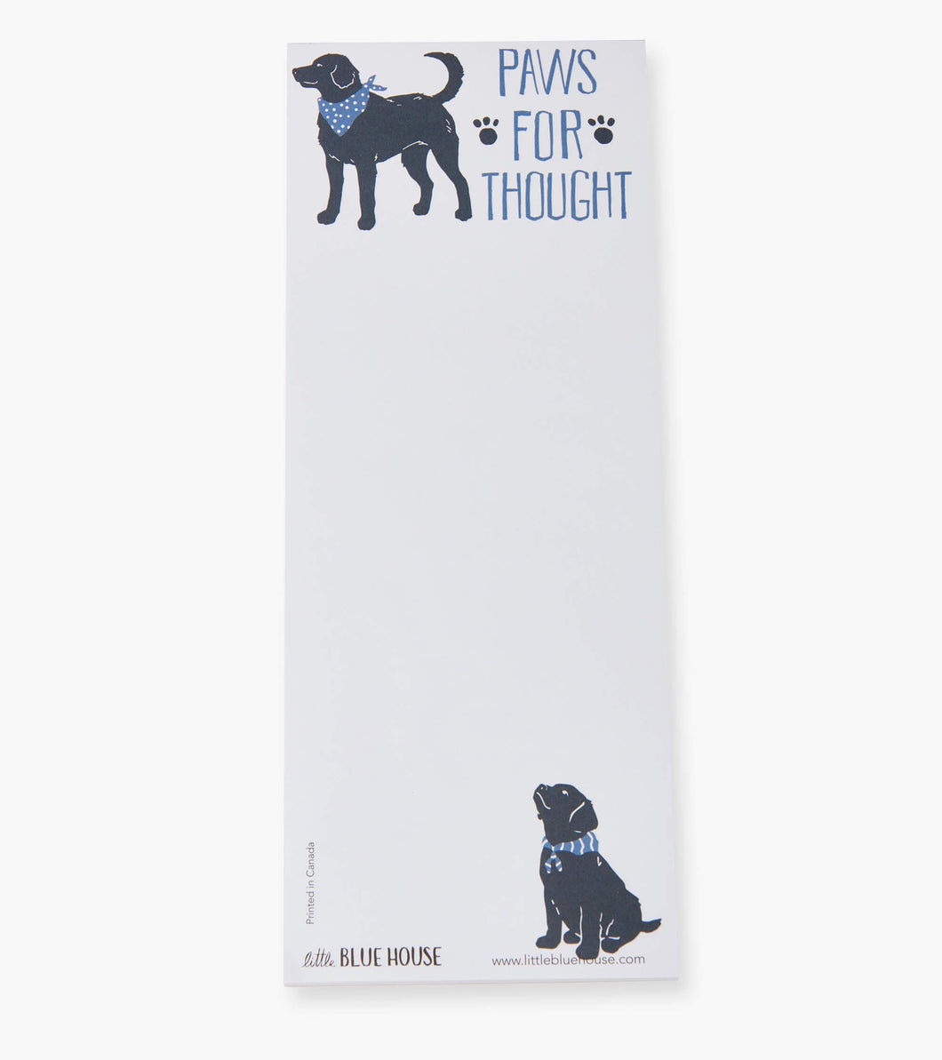 Paws For Thought Magnetic Notepad