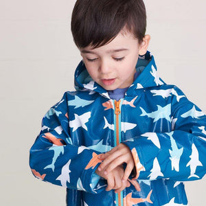 Hatley Great White Shark Rain Coat