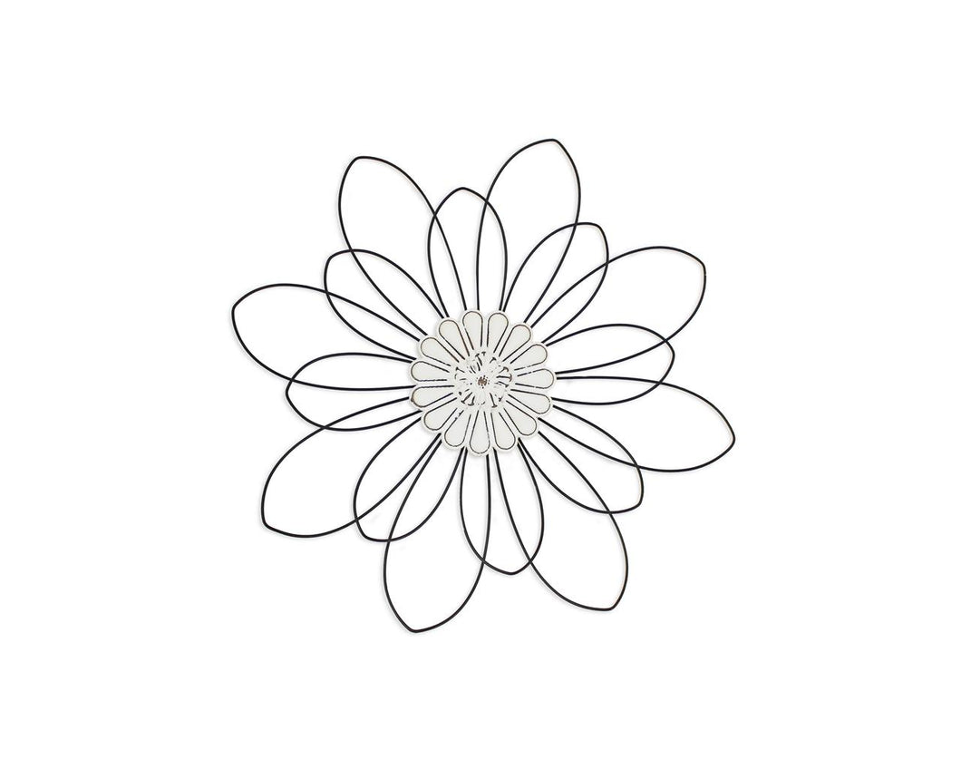 Floral Wire Wall Decor, Small