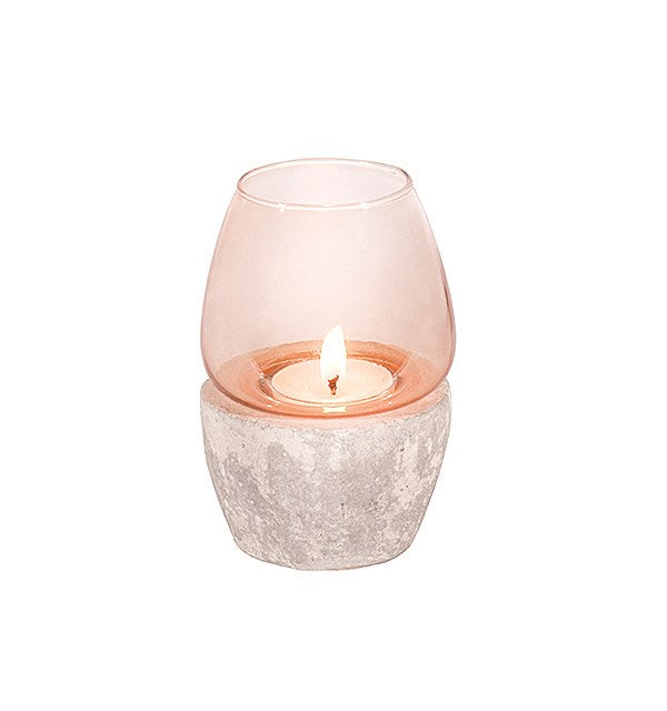 Blush Candle Holder