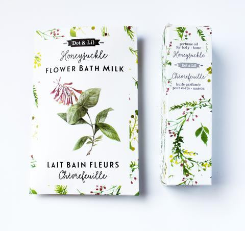 Dot & Lil HoneySuckle Bath Milk Sachet