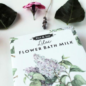 Dot & Lil Lilac Bath Milk Sachet