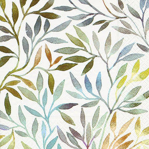 Willow Leaves Lunch Napkin