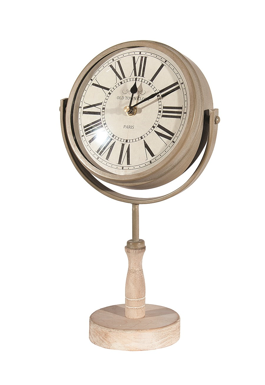 Pedestal Indoor/Outdoor Clock