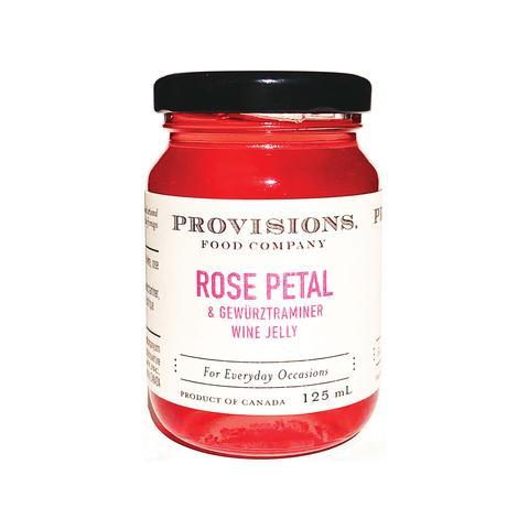 Provisions Rose Petal & Gewurztraminer Wine Jelly