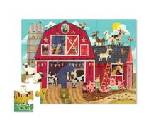 Load image into Gallery viewer, Crocodile Creek Early Learning Puzzle Barnyard