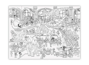 Crocodile Creek Giant Colouring Poster