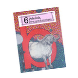 B is for Buffalo Note Cards, set of 6 blank cards with envelopes