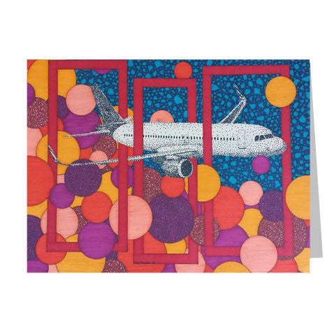 Airbus 5x7 Greeting Card