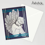Angel 5x7 Greeting Card