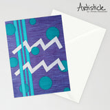 Aquarius 5x7 Greeting Card
