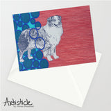 Aussie 5x7 Greeting Card