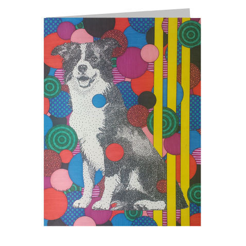 Border Collie 5x7 Greeting Card