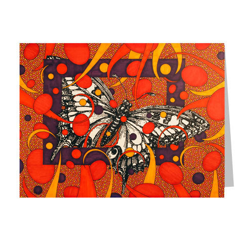 Butterfly 5x7 Greeting Card
