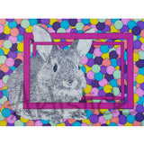 Bunny Note Cards, set of 6 blank cards with envelopes