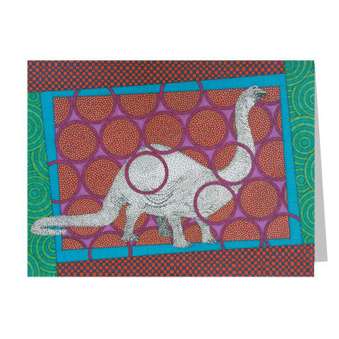 Brontosaurus 5x7 Greeting Card