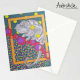 Chameleon 5x7 Greeting Card