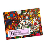 When Clown Cars Explode Note Cards, set of 6 blank cards with envelopes
