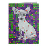 Chihuahua Note Cards, set of 6 blank cards with envelopes