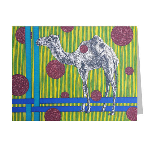 Camel 5x7 Greeting Card