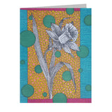 Daffodil Note Cards, set of 6 blank cards with envelopes