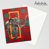 Elephant 5x7 Greeting Card