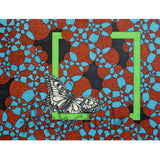 Green Butterfly signed art print