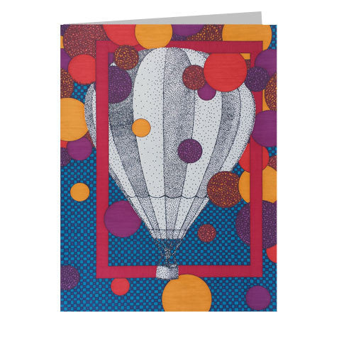 Hot Air Balloon 5x7 Greeting Card