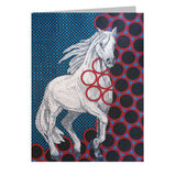 Horse Note Cards, set of 6 blank cards with envelopes