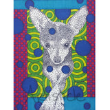 Little Dog 5x7 Greeting Card
