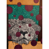Lion 5x7 Greeting Card
