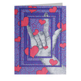 Love You Note Cards, set of 6 blank cards with envelopes