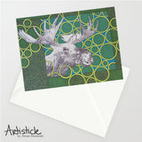 Moose 5x7 Greeting Card