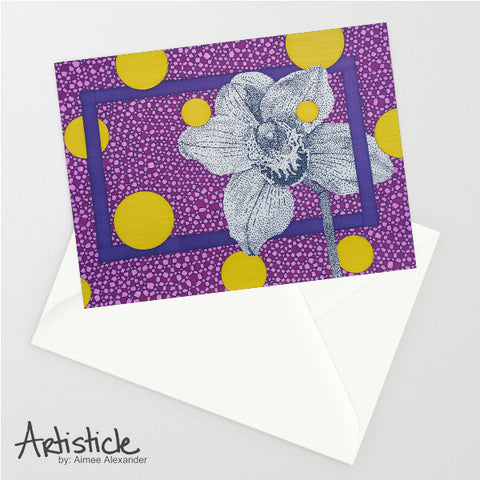 Orchid 5x7 Greeting Card