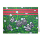 Ornaments Note Cards, set of 6 blank cards with envelopes