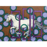 Purple Unicorn Note Cards, set of 6 blank cards with envelopes