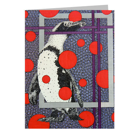 Penguin 5x7 Greeting Card