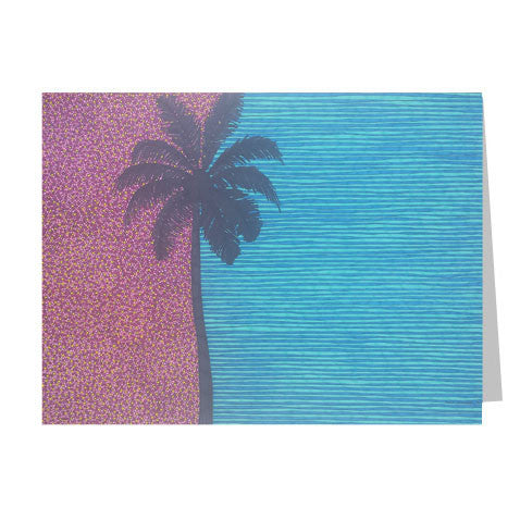 Palm Tree 5x7 Greeting Card