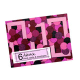 Pink Note Cards, set of 6 blank cards with envelopes