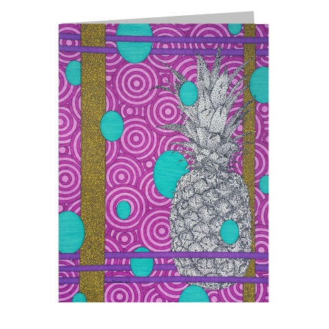 Pineapple 5x7 Greeting Card