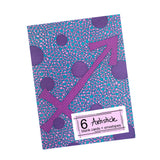 Pink Sagittarius Note Cards, set of 6 blank cards with envelopes