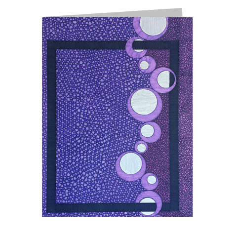 Purple 5x7 Greeting Card