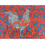 Ruby Rooster Signed Art Print