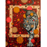 Red Tiger signed art print