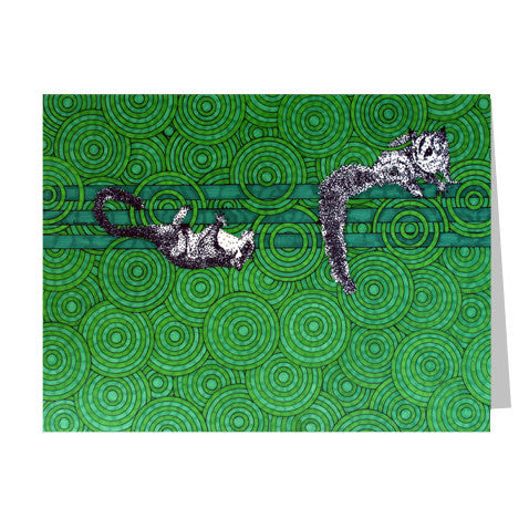Sugar Gliders 5x7 Greeting Card