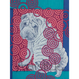 Shar Pei Note Cards, set of 6 blank cards with envelopes